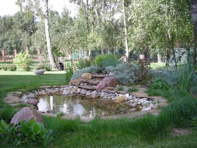 Особенности оборудования искусственных водоемов в загородном доме