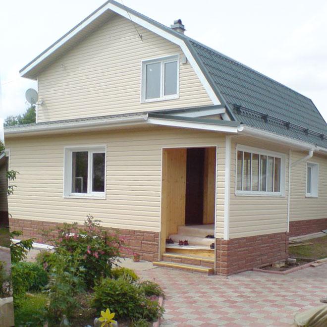 Внешняя отделка домов