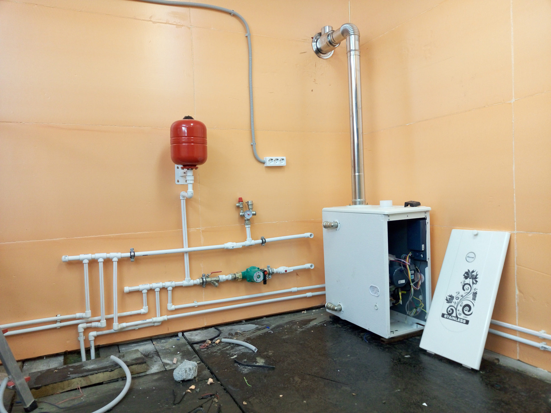 Выбор отопления для гаража