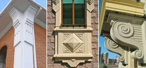 Преимущества архитектурного декора из стеклофибробетона