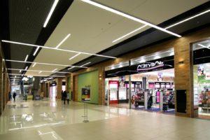 Освещение торговых залов