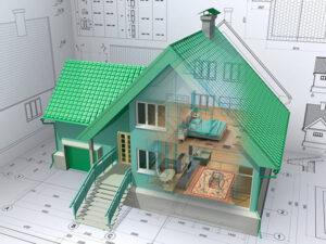 Услуга по строительству домов под ключ