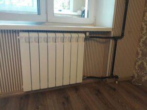 Установка и замена батарей радиаторов отопления