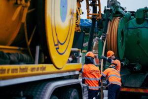 Промывка канализационных сетей