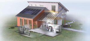 Энергоэффективный дом за счет теплоэффективных блоков
