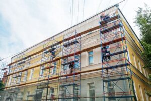 Услуги по ремонту фасада